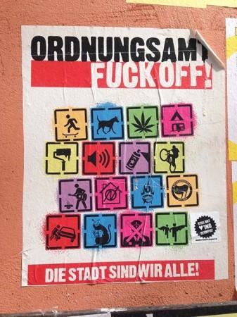 Entdeckt in der Weisestraße.