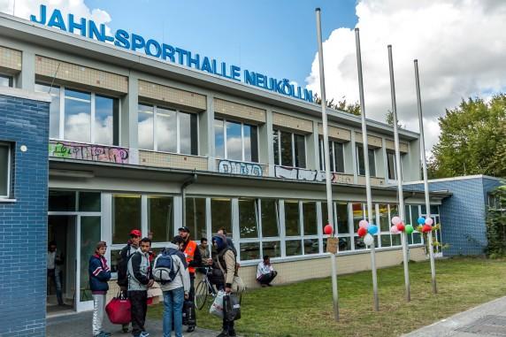 Jahn-Sporthalle am Columbiadamm (Foto: Stefan Weger)