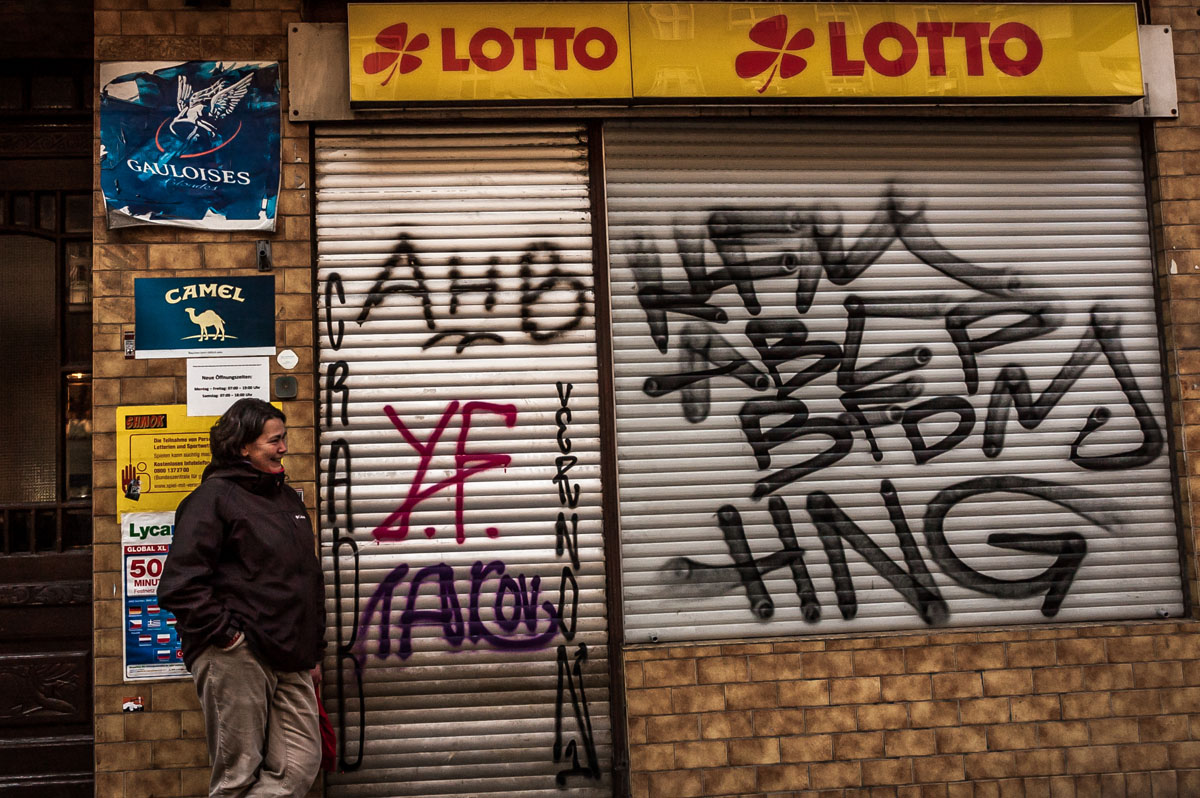 Die Stadtführerin aus dem Lottoladen