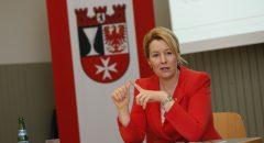 Die Neuköllner Bürgermeisterin Franziska Giffey ist seit April 2015 im Amt. (Bild: Emmanuelle Contini)