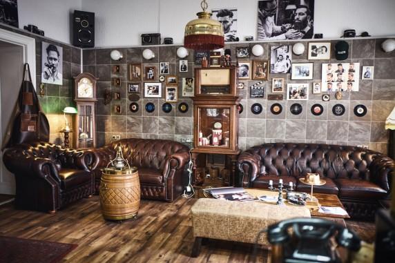 Blick in den Laden von Hussein Seif (Foto: Jens Book)