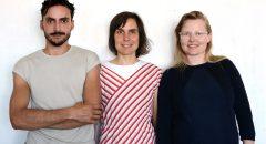 Kümmern sich auf neue Art ums Sterben: Mirko Winkel, Karen Winzer, Lydia Hamann (Foto: DeathLab)