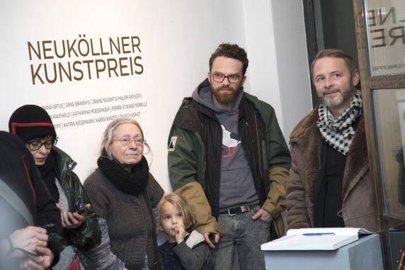 Publikum bei der Preisverleihung des Neuköllner Kunstpreises 2017