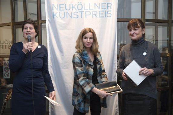 Katharina Moessinger erhielt den mit 1.500 Euro dotierten zweiten Neuköllner Kunstpreis