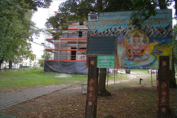 An der Hasenheide entsteht der Sri Ganesha Hindu Tempel (Foto: Ganesha Hindu Tempel von Kailas98 unter CC BY-NC-ND 2.0)