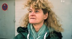 """Regina Weidner nach erledigter Arbeit (Foto: """"Trabanten"""" / Daniel Seiffert)"""