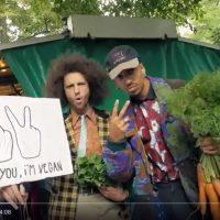 Veganer Rap mit Käse