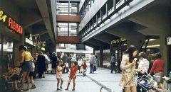 Reges Treiben in der Passage in den 70er Jahren  (Quelle: unbekannt)